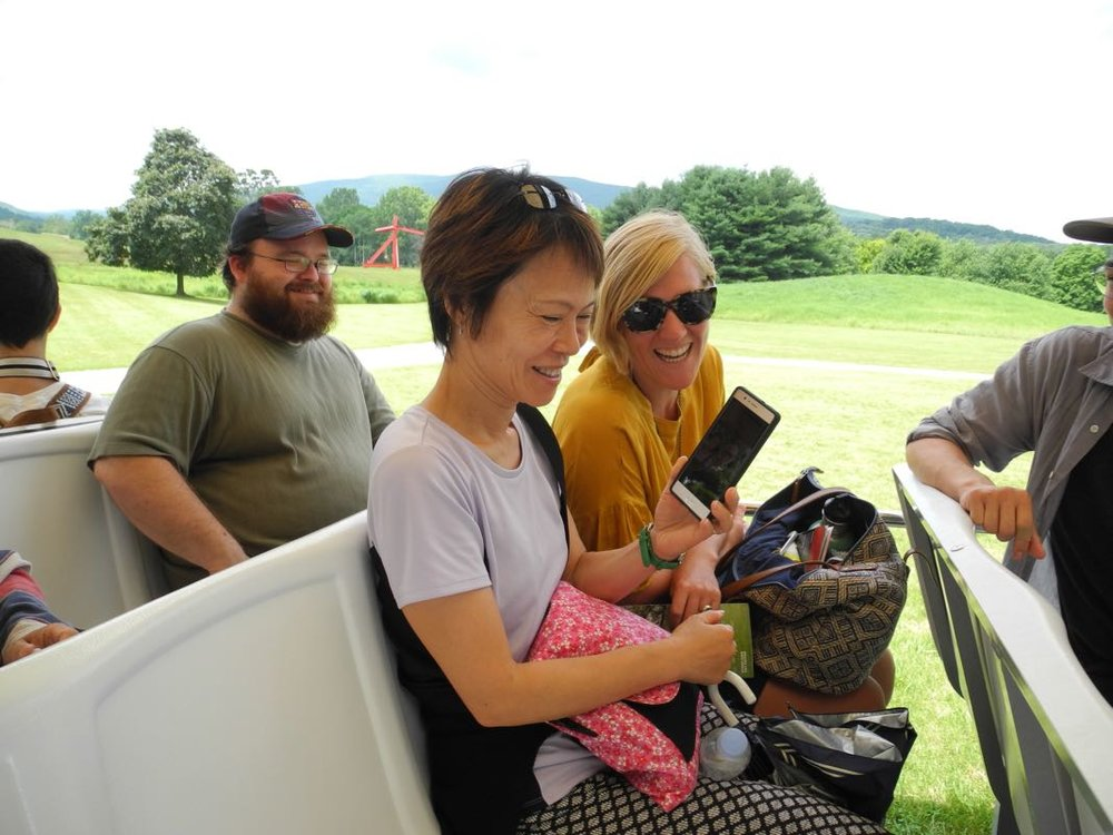 Kuni, Laura, and Tyler at Stormking.