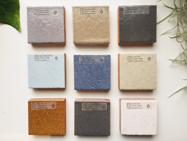 New Engobe Glazed Thin Brick Tile from Fireclay Tile