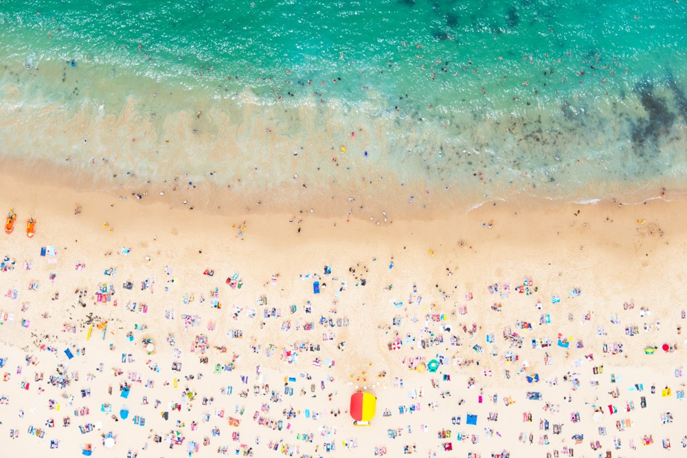 """Coogee Beach Horizontal"" by Gray Malin"