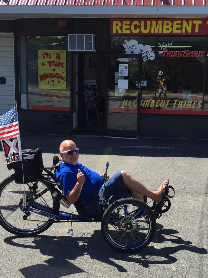 Trying a trike out by the shop!