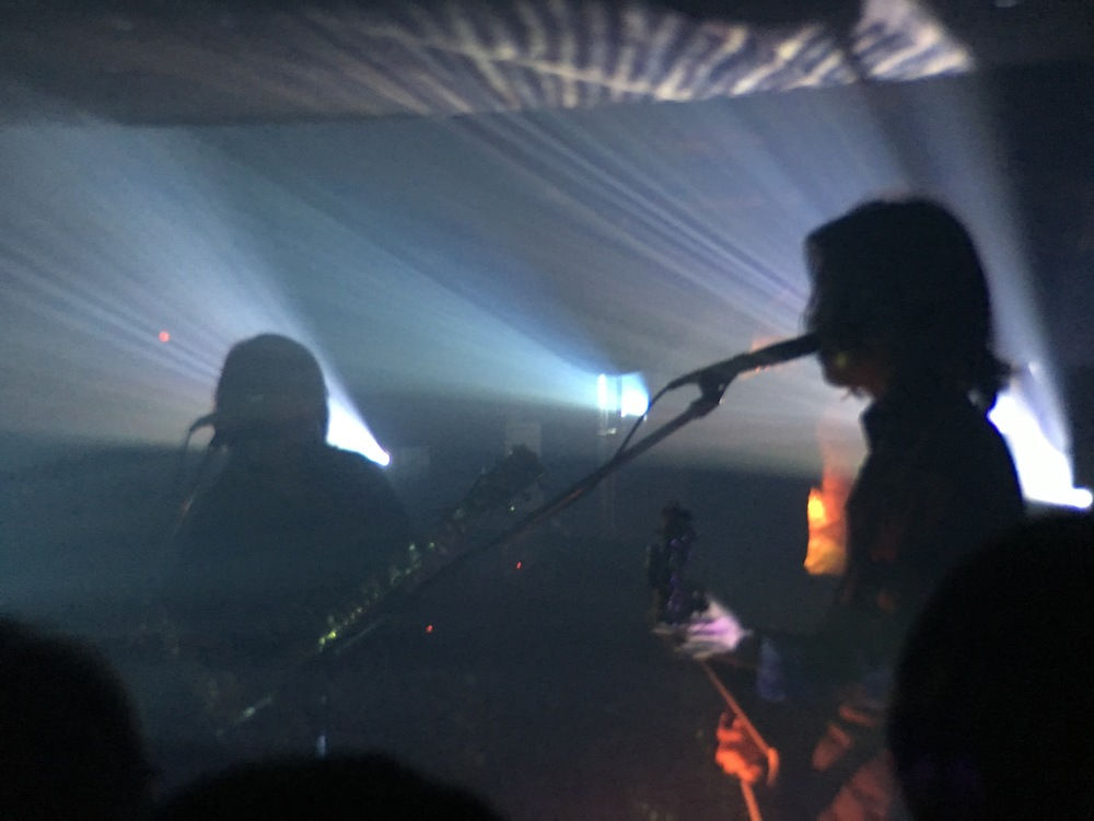 Boris live with Merzbow in Tokyo. Wata and Takeshi pictured