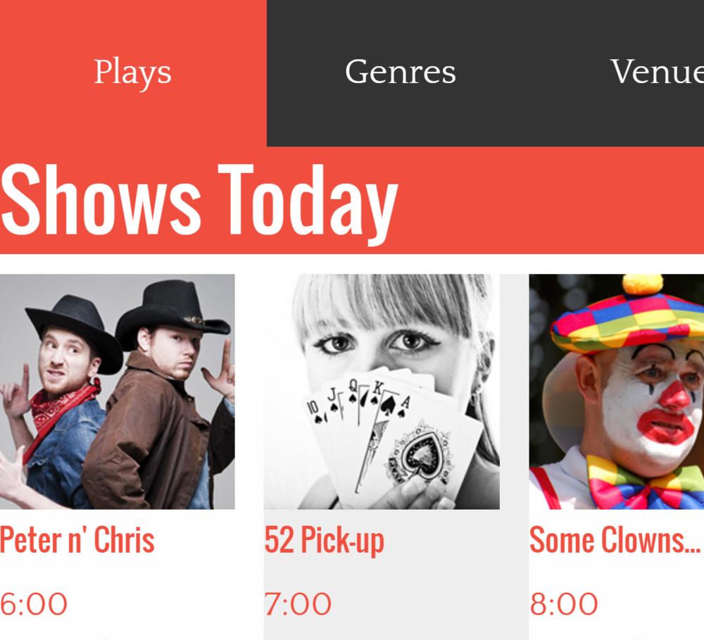 Toronto Fringe Festival App