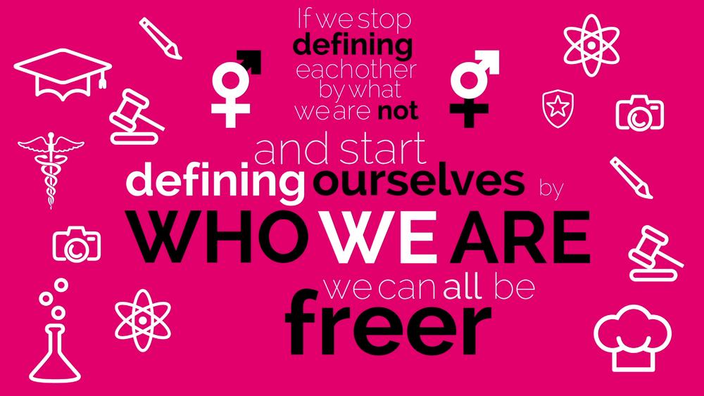 HeForShe Kinetic Typography