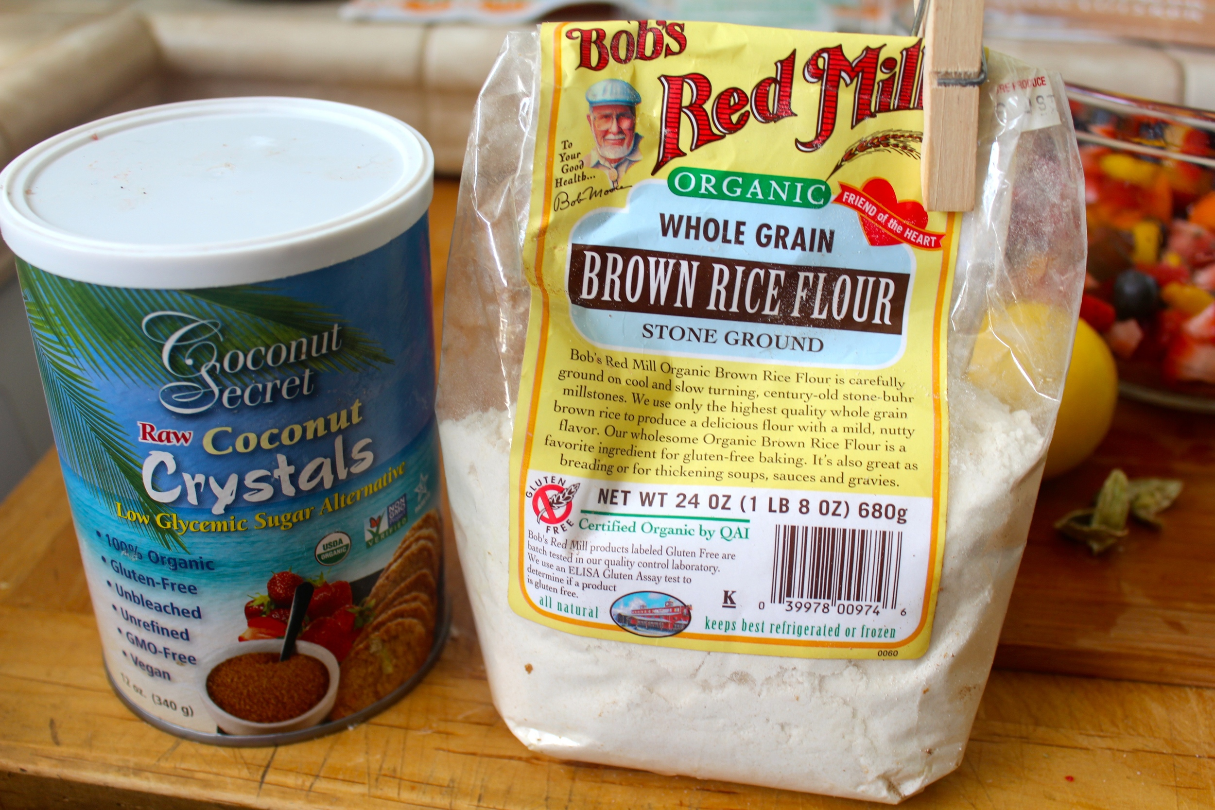 Coconut Sugar and Brown Rice Flour