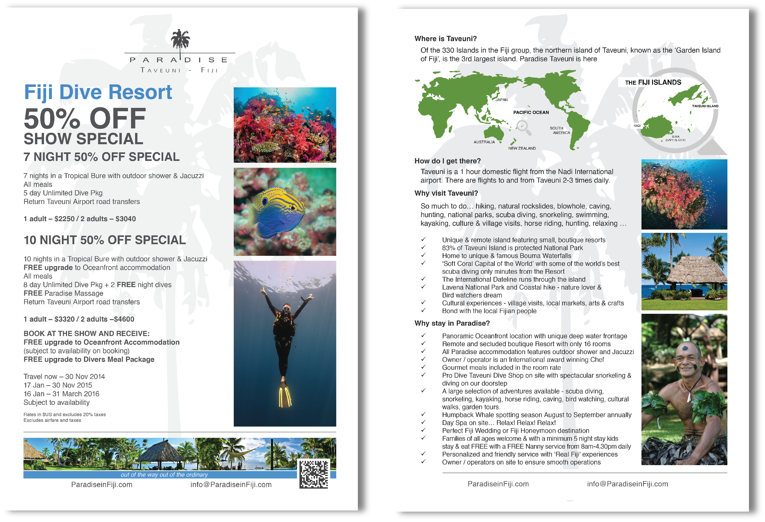 Dive Brochure
