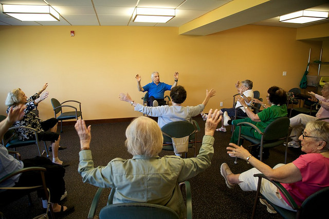 Resident wellness activities