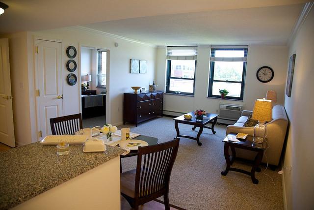 Modern, spacious apartments