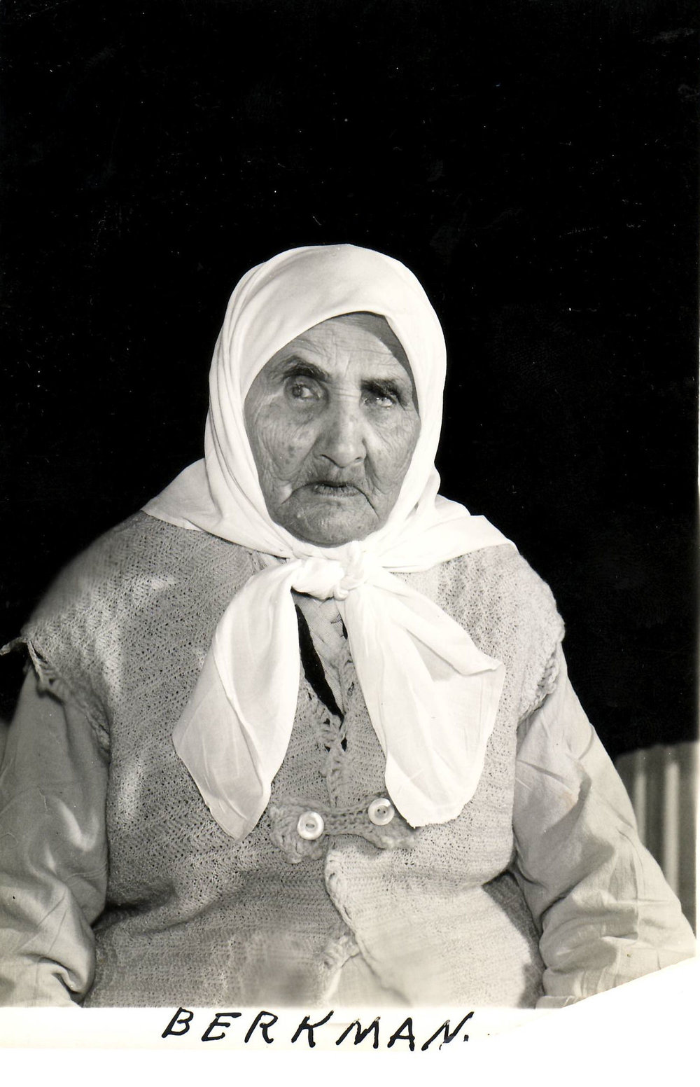 "An early resident of the Hebrew Home, before 1951.  Most of the older adults cared for at Hebrew Home were indigent, which put a constant strain on the resources of the organization. In an article written for The Jewish American in July, 1929, just months before the Wall Street Crash, the author noted: ""100 old men and women are cared for here. They are immigrants from Russia, Poland, Austria, Hungary, Roumania [sic], Germany and also many Americans. A good many of these immigrants are 40 and 50 years in the United States."""