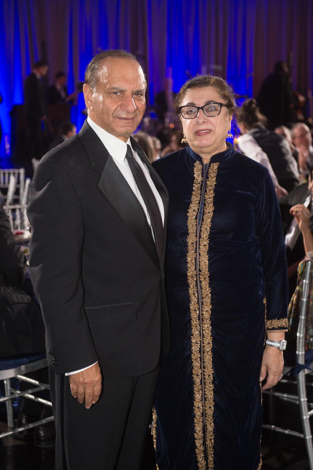 Farooq and Farida Kathwari