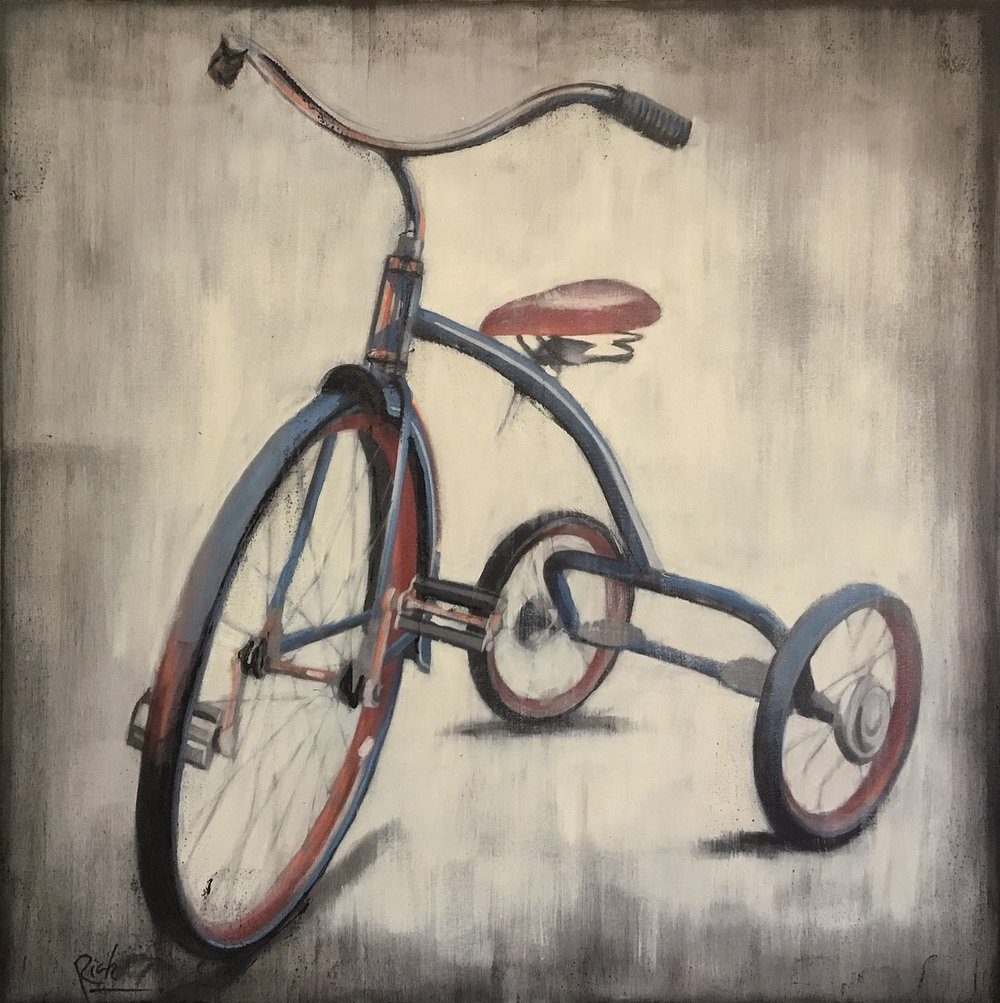 Cyclical  Acrylic on canvas 36x36