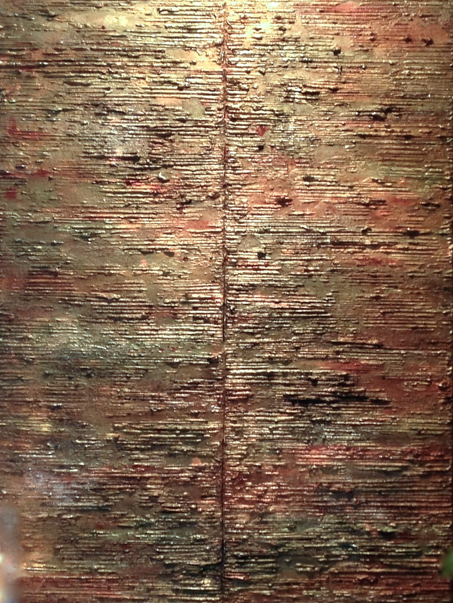 elements III  40 x 30 x 1.5 inches  mixed media on canvas  $3,800