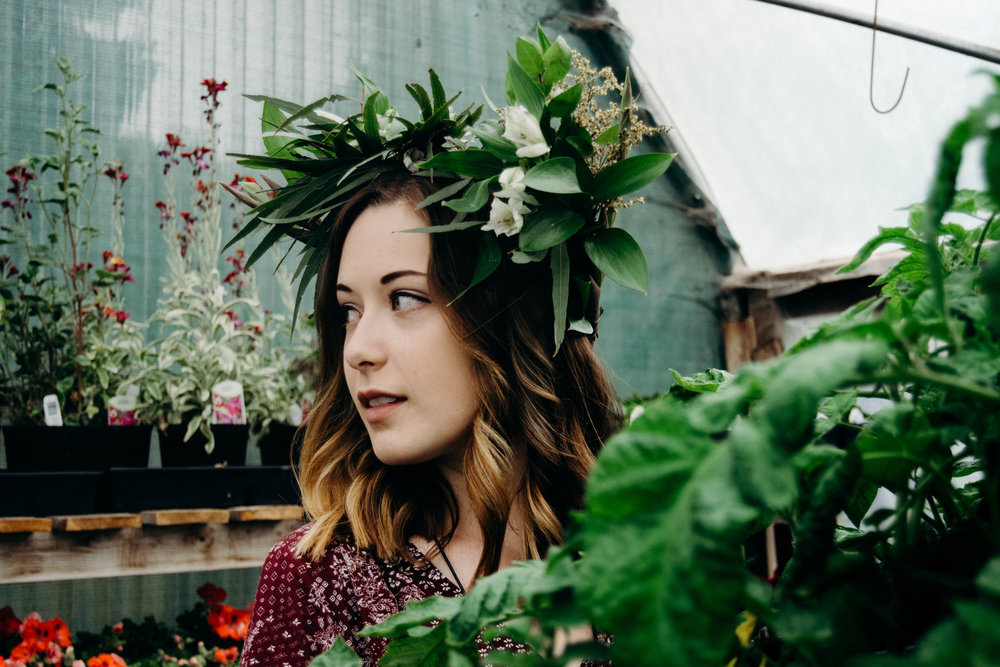 emily m | garden goodness session | 2017 | heather woolery