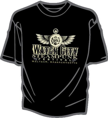 Black WCSF Logo Tee