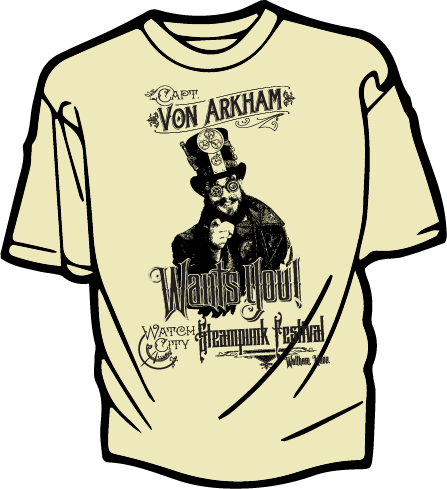 Von Arkham Wants You! Tee