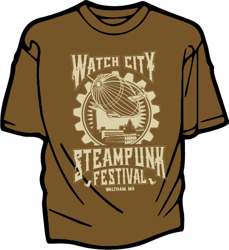 Brown Airship Tee