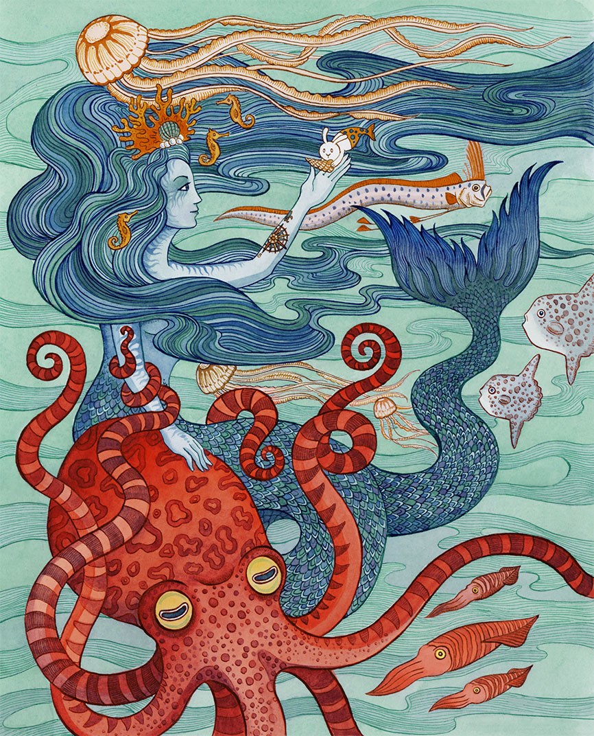 SepiaLepus Illustration
