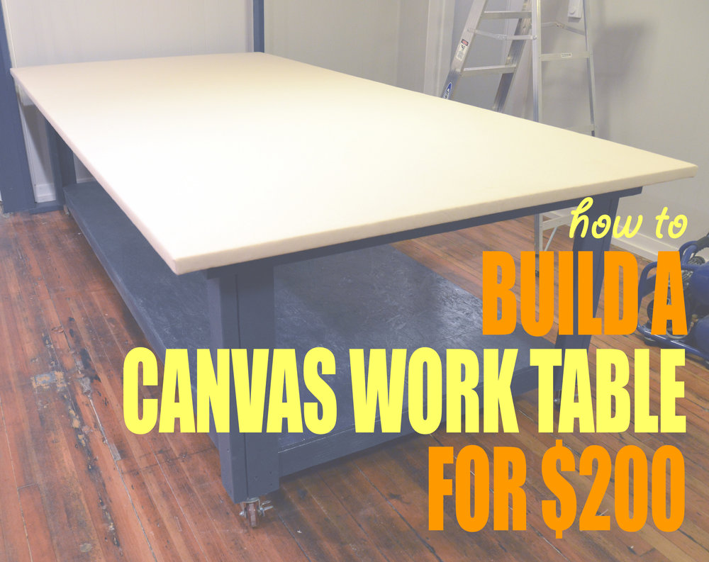 Beau I LOVE My Big Worktable. This Is Actually The Second Work Table I Have Made    They Arenu0027t Really Practical To Move. In Fact, Whenever I Move Out Of  This ...