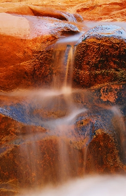 Canyon Light and Falls