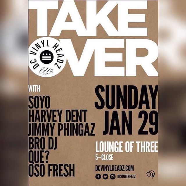 Today at Lounge of Three. #dcvinylheadz