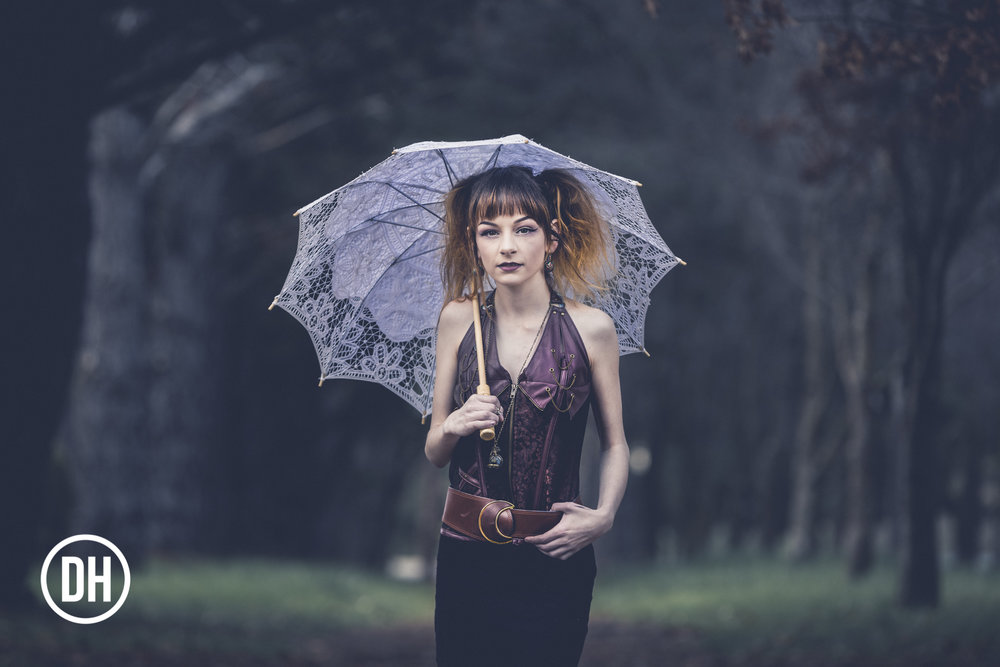 """Parasol Girl""  Model: Jess Peisley MUA: Jess Peisley Hair: Jess Peisley and Zara Colley"