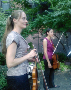 "From ""Violin and Viola"" on the Listen Closely Concert Series in NYC. 2015.08.16 ~ with Rose Hashimoto"