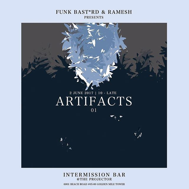 2nd June will be the launch of 'ARTIFACTS' by @funk_bstrd and Ramesh. A casual monthly listening session happening every first Friday of the month at @intermissionbarsg, @theprojectorsg. If you are after a wide spectrum of sounds that would rarely be heard in your traditional club setting, swing through! __  ARTIFACTS 01 Friday, 2nd June 10pm till late.  #artifacts #notconforming #soulmusic #jazzvibes #vinyljunkie #goldenmiletowersg #theprojectorsg #intermissionbarsg