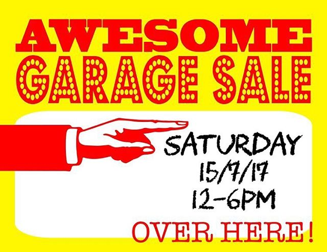SEE YOU TOMORROW! ALL ITEMS MUST GO - equipments, appliances & miscellaneous stuff!