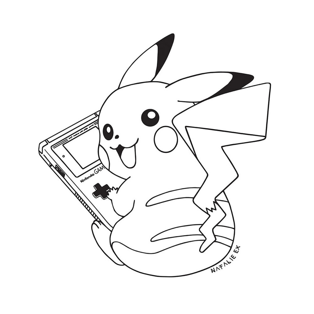 Drawing of pikachu by melbourne illustrator natalie ex natalie ex pikachu art work by melbourne artist natalie ex thecheapjerseys Image collections