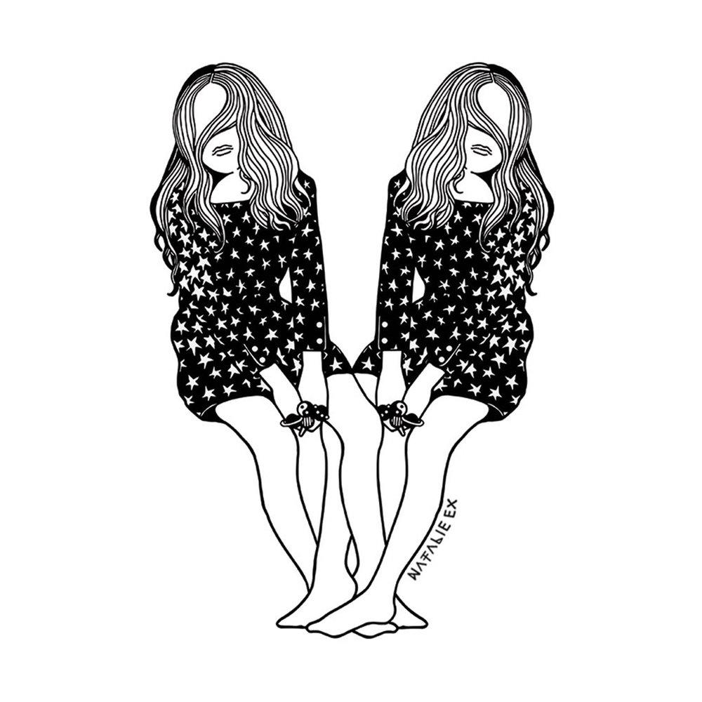 Fashion Illustration by Melbourne Illustrator, Natalie Ex