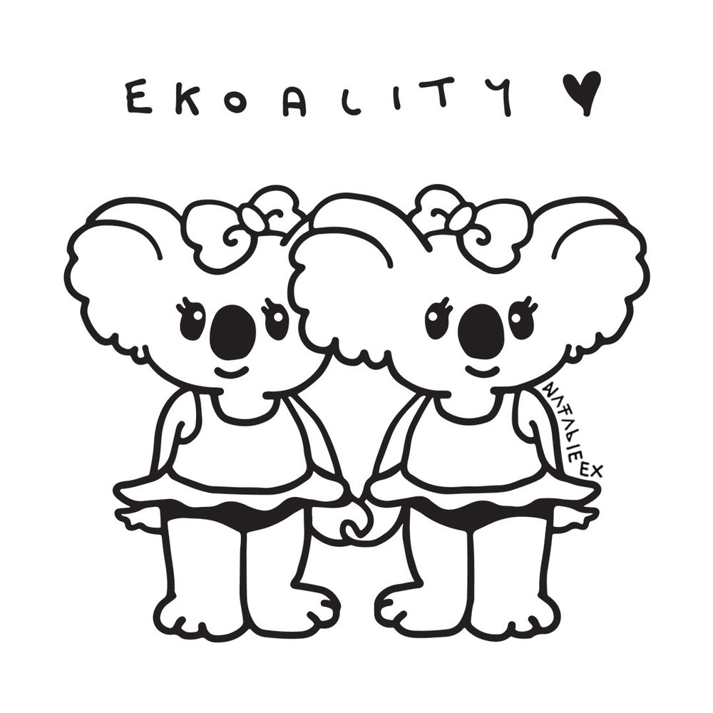 Marriage Equality Koalas. A drawing celebrating equal love - congratulations Australia!