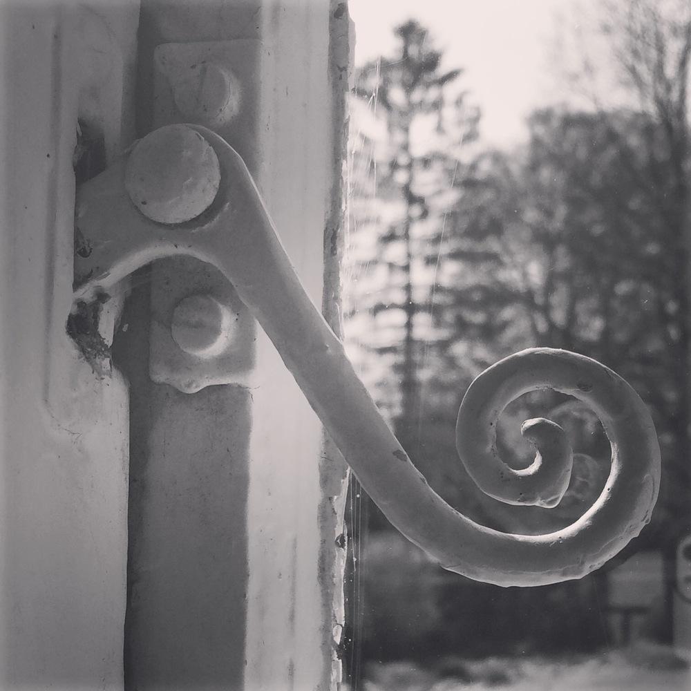 Window Latch at Jane Austen's House.JPG