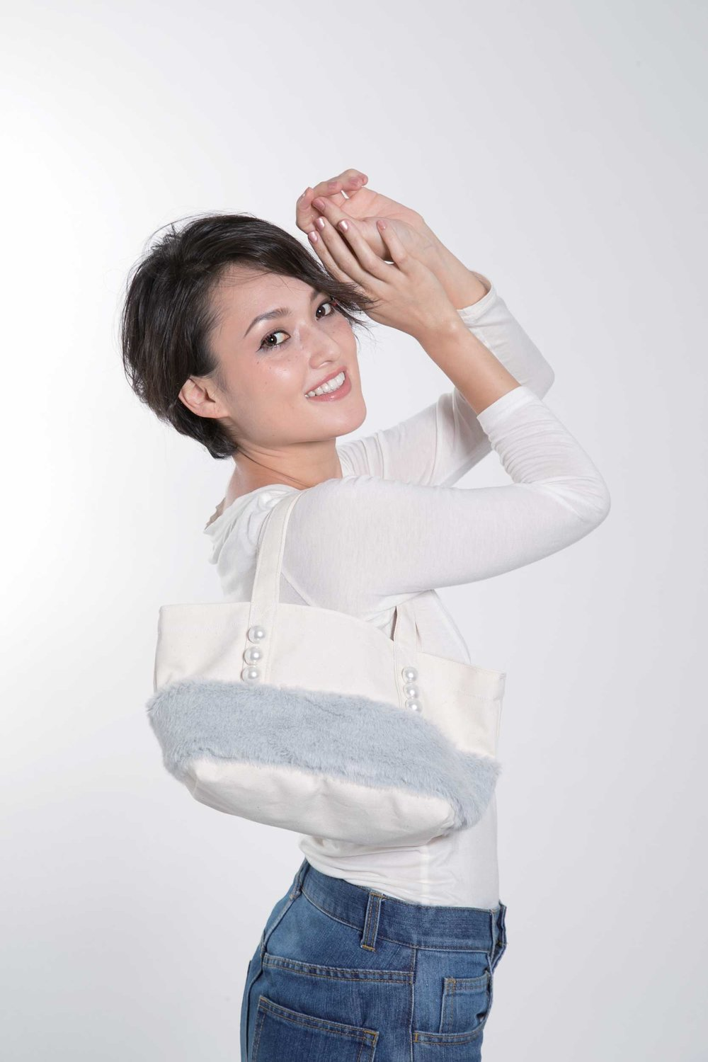 No,10138-1/PEARL TOTEBAG