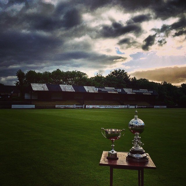 Our best photo of 2015. Our two trophies standing out on the Newlandsfield pitch under the summer sunset. This image received a great response with over 100,000 views over our various social media accounts.
