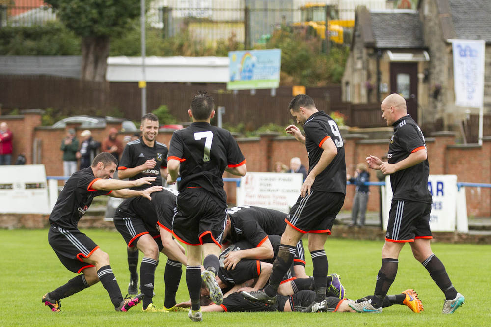 13 - Pollok celebrate Mark Sideserf's opener copy.jpg
