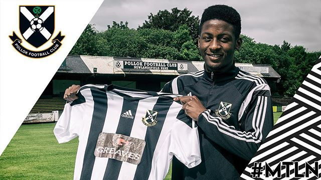 Welcome to Newlandsfield, Mouhamed Niang!! #MTLN 🏁🏁