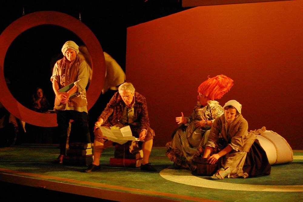 Nozze Di Figaro:LongboroughOpera Festival 2012. Directed byJenny Miller