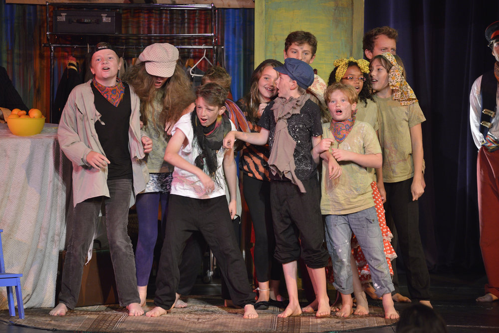 HASTINGS SCHOOL CHILDREN IN BAREFOOT OPERA'S CARMEN 2014