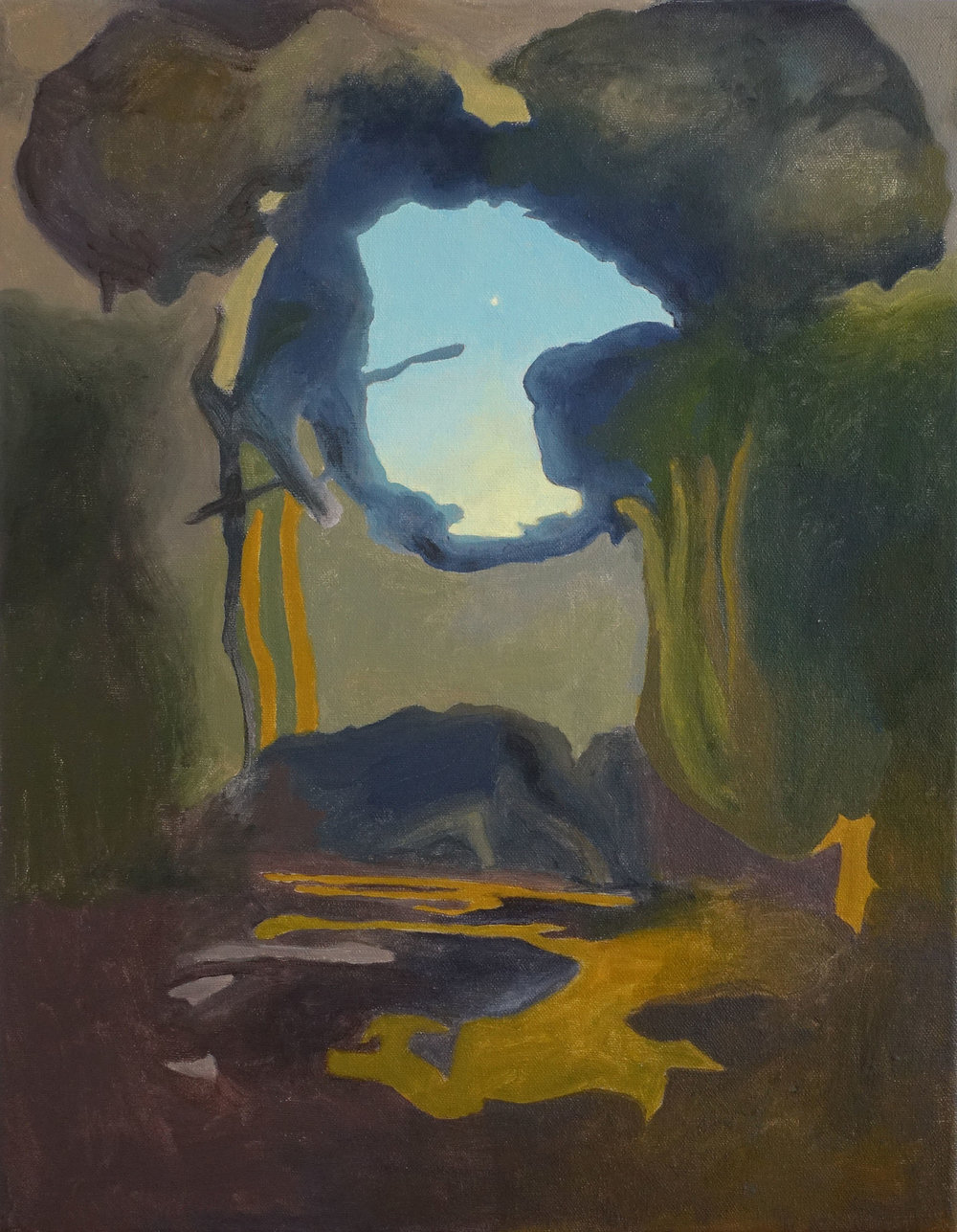 Untitled (Cerulean), 2017