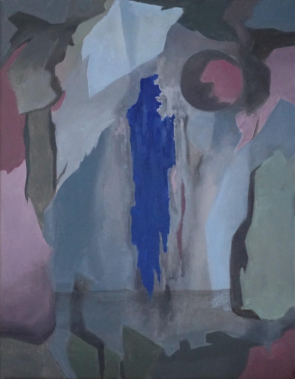 Untitled (Ultramarine), 2017
