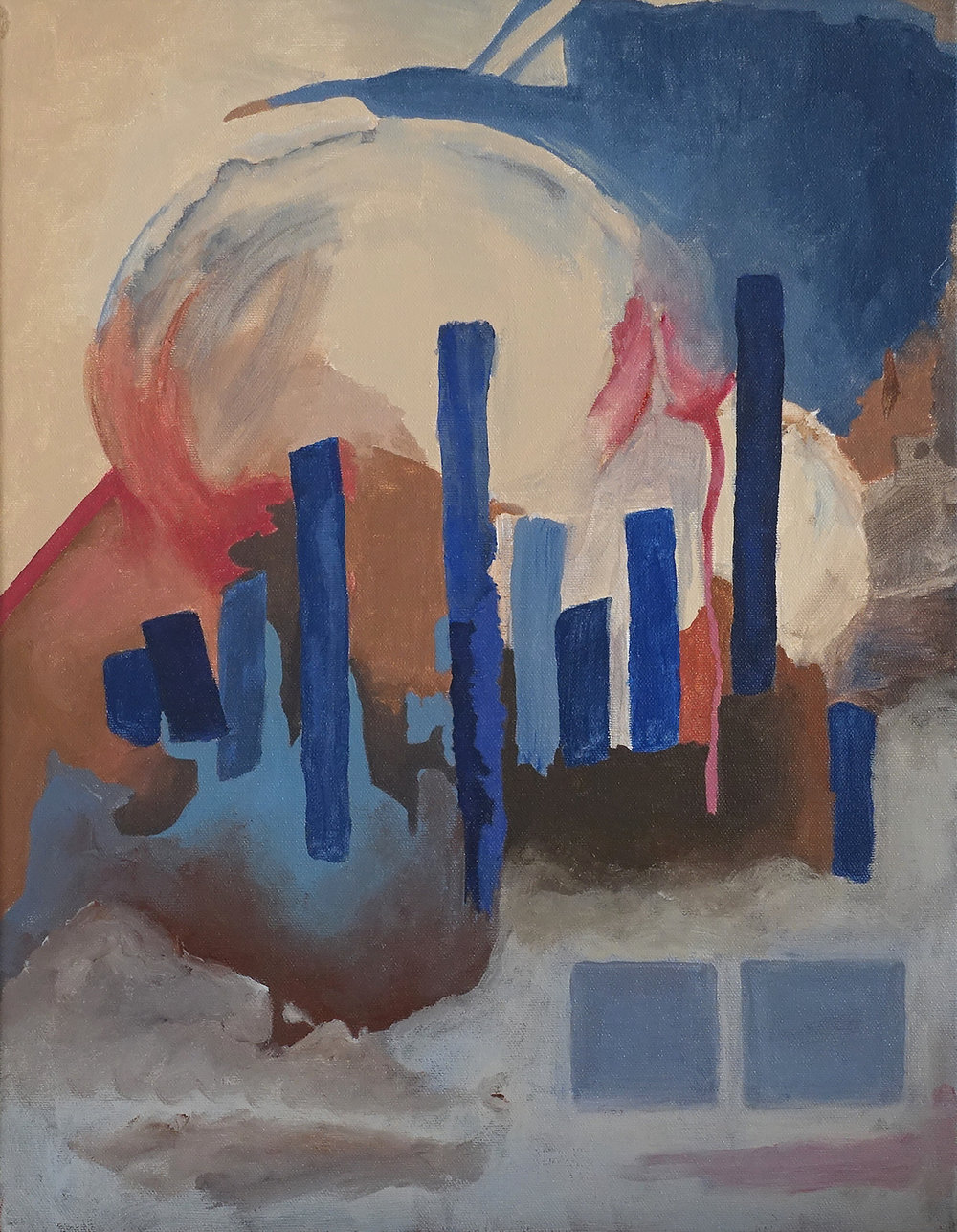 Untitled (Verticals), 2017