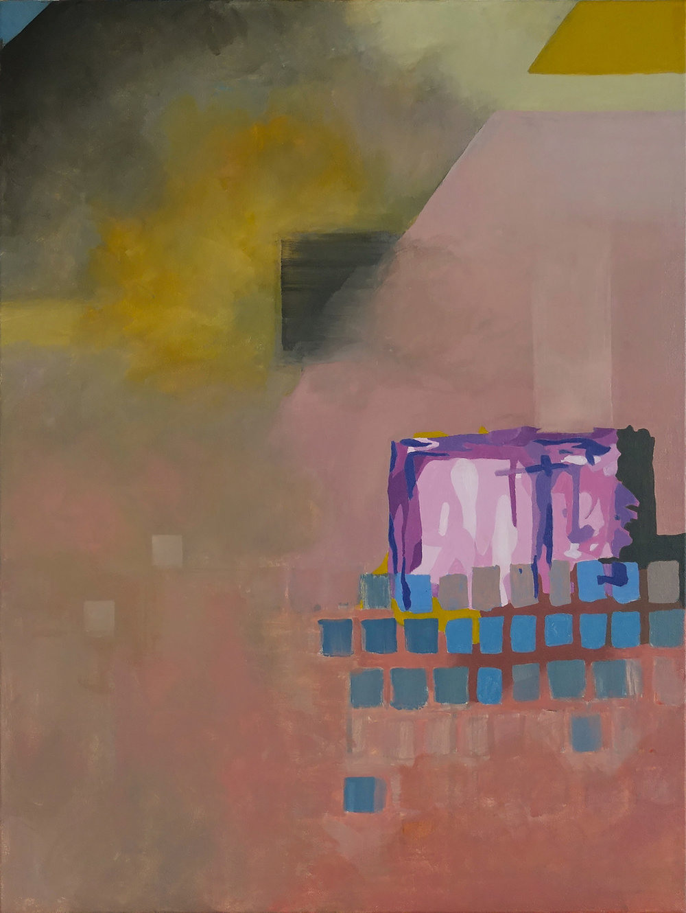 Untitled (Pink Square), 2017
