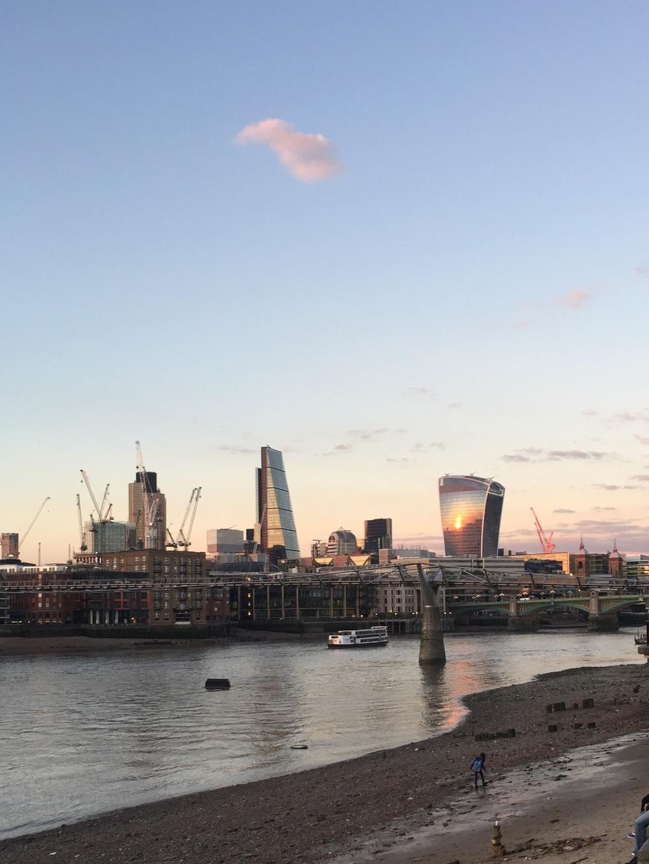 Walkie Talkie on the London Skyline