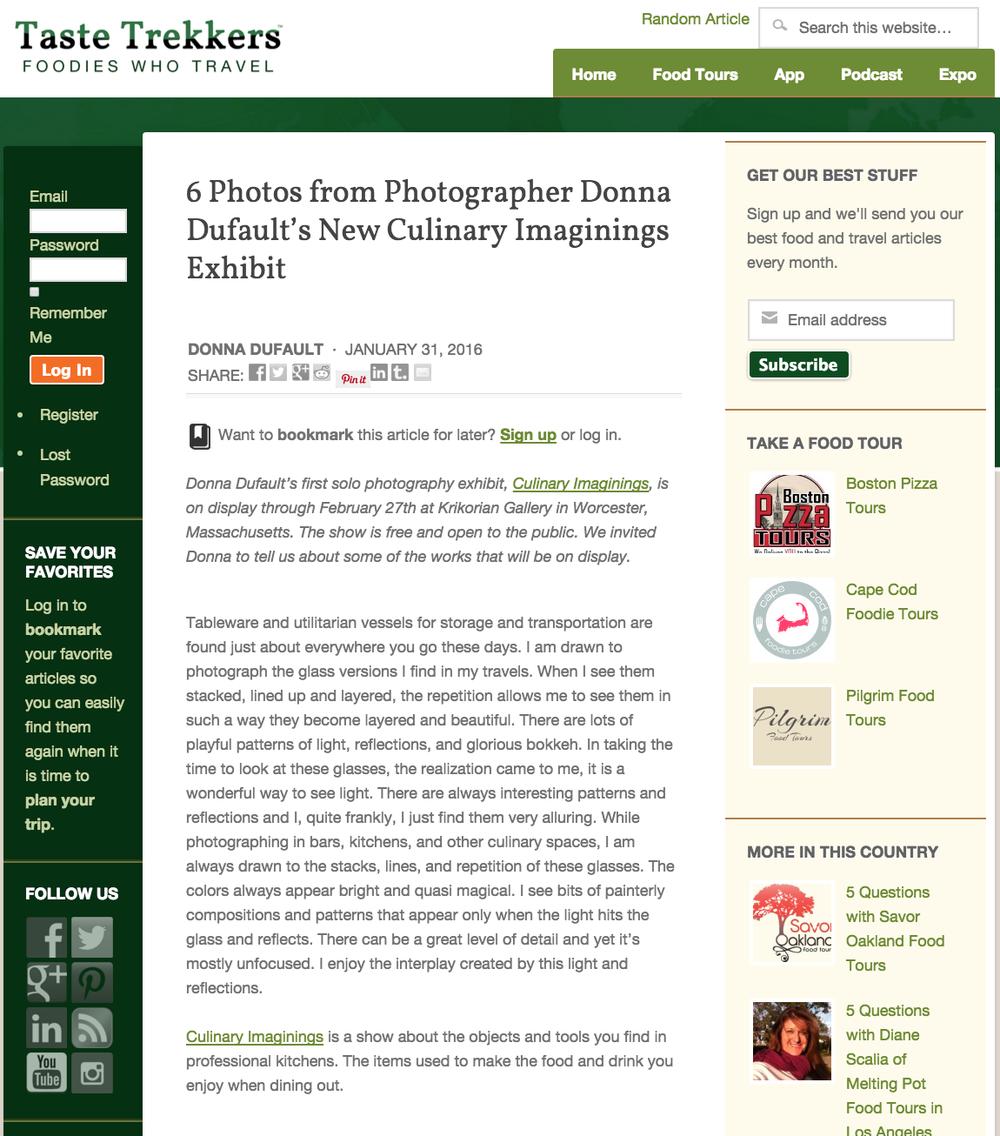 Taste Trekkers Blog