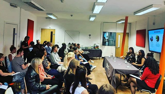 Thanks to everyone who joined us last night for the #GirlBoss event and to our amazing hosts @AlliaBusinessCentre. A night full of energy and questions! #keephustling #hackney #womenintechnology #womenempowerment #startup #business #WomenWhoHustle #fashtech #jadoreadorn #wearables