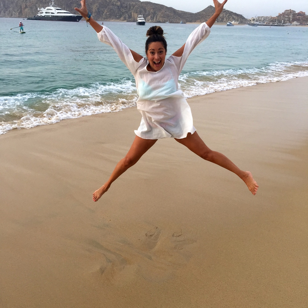 This is me when I get to Cabo; one of my favorite nearby destinations in Baja.