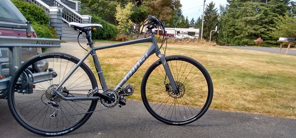 Tangent's commuter- 28lbs, 130Nm at the crank. Total cost ready to ride $3.5k, including bike and batteries.