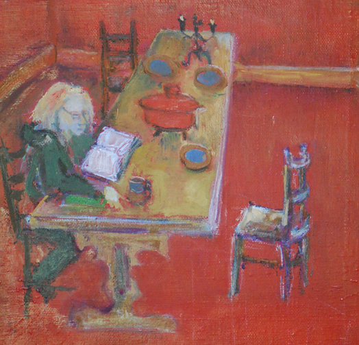 Lucy Tokheim, 2008 oil on canvas