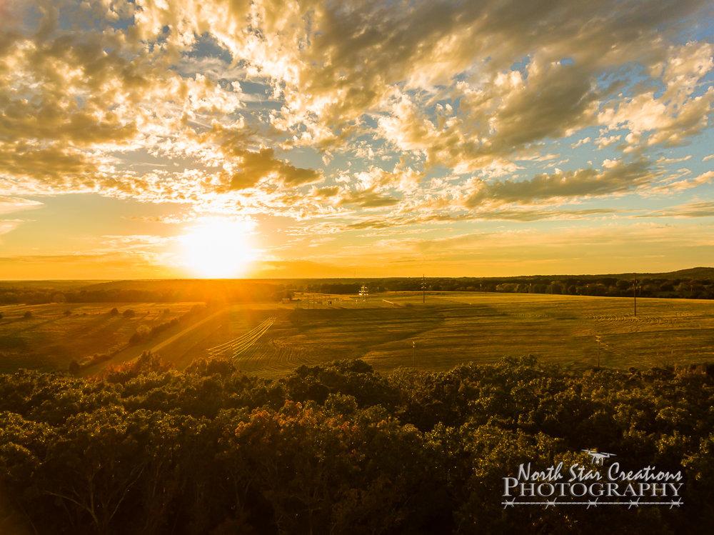 Rural Missouri Sunset