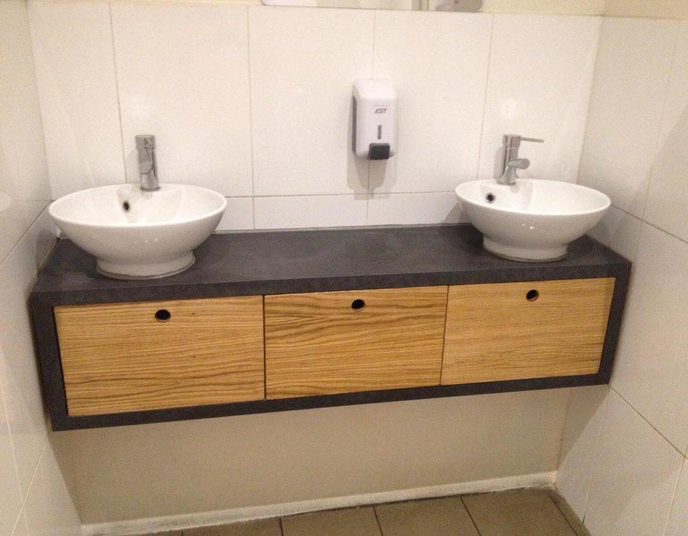 Meuble vasques salle de bain