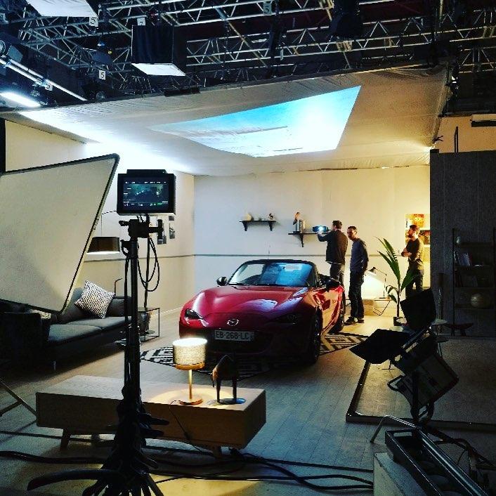 Scénographie / Pub Mazda